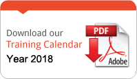 Download Training Calendar 2018